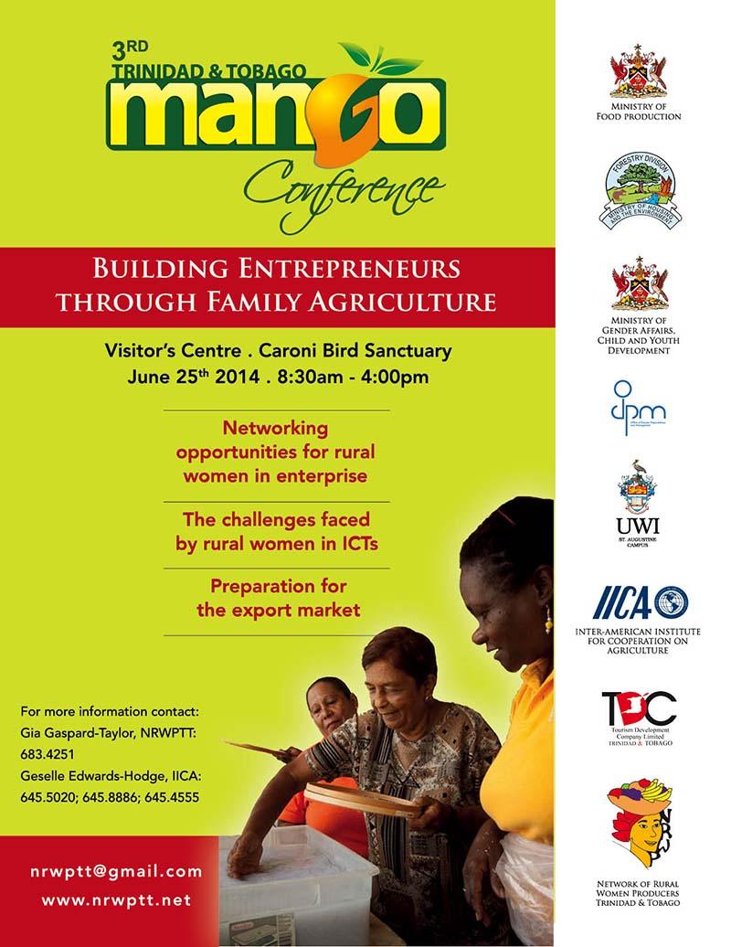 Mango Conference flyer 2014