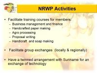 View the album NRWP Presentation 2013 Agrotourism